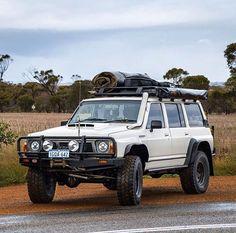 Very nice Patrol! Land Cruiser 80, Patrol Gr, Nissan 4x4, Offroader, Nissan Patrol, First Car, Vintage Toys, Dream Cars, Toyota