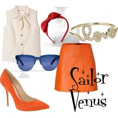 Sailor Venus, created by jsglick on Polyvore