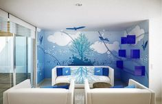 Living Room Wall Murals Ideas To Decorate Living Room Living Room Wall