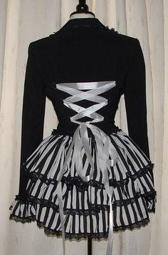 black & white steampunk