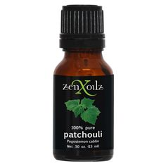 ZenXoilz 100% Pure Patchouli Essential Oil 15ml -- Want to know more, click on the image. (Note:Amazon affiliate link) #OilySkinCare