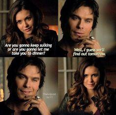 Damon and his smirks