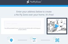 Keep the UAV Devices Away - Create and Register Your Own No Fly Zone