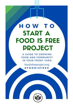 Here's our PDF guide: How to Start a Food is Free Project Download or read it here: How to Start a Food is Free Project - Direct Download https://www.scribd.com/…/How-to-Start-a-Food-is-Free-Project - Scribd link We wanted it to be a mix of inspiration and action steps without being too overwhelming. We'll be sharing more detailed guides and blog posts as we move forward as well as an FAQ. Plant a front yard garden and share the harvest this season and join the ‪#‎foodisfree‬ movement. Onward!