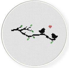 INSTANT DOWNLOAD Stitch Pattern4 PDF Cross by DailyCrossStitch, $1.49
