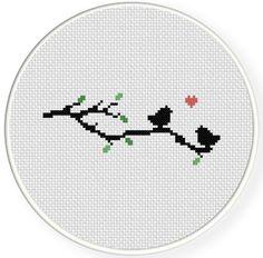 INSTANT DOWNLOAD Stitch Pattern4 PDF Cross by DailyCrossStitch, $1.49