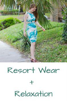 resort wear and relaxation, latiste by amy, palm tree dress, kendra scott sophee earrings, travel