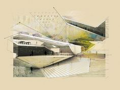 Drawing ARCHITECTURE | Steven Sanchez