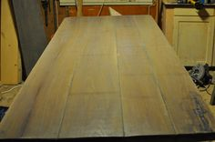 Processed table top