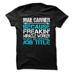 Mail Carrier T-Shirts, Hoodies. GET IT ==► https://www.sunfrog.com/LifeStyle/Mail-Carrier-63279681-Guys.html?id=41382