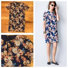 J. Crew Silk Antique Floral Dress J. Crew Silk Antique Floral Dress. Size 00. In perfect condition. Feel free to ask me any questions below or make me an offer below! Retailed for $188 and SOLD OUT! J. Crew Dresses