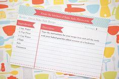 Mononokin, free-printables: Free recipe card template from...