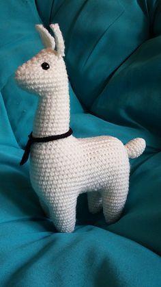 Ravelry: Llama Amigurumi pattern by Julie Chen Cute Crochet, Crochet Crafts, Crochet Dolls, Yarn Crafts, Crochet Baby, Crochet Projects, Knit Crochet, Crochet Food, Knitted Dolls