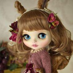* Sister Of Amele Custom Blythe * Twins Squirrel  Buy her here:   #blythe #blythedolls #kawaii #cute #rinkya #japan #collectibles #neoblythe #customblythe