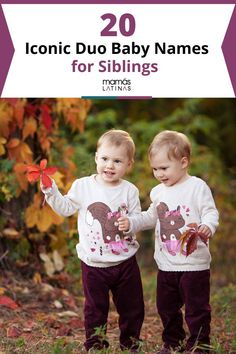 20 Iconic Duo Baby Names for Siblings: Good things come in pairs and the same can be said for names. Here are duo for siblings who are bound to be as close as their namesakes. Rare Baby Names, Unisex Baby Names, Kids Sleep, Baby Sleep, Child Sleep, Spanish Baby Names, Kids Stage, Uncommon Baby Names, Name List
