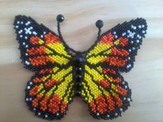 Seed Bead Butterfly Pattern