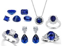 Sapphires! Don't forget your September birthdays and anniversaries!