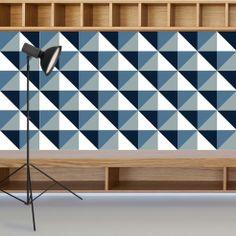 Lurca Azulejos - Coleção Modelo Kit Triângulo 1 // Collection Kit Triângulo 1 Ceramic Tiles // Shop Online www.lurca.com.br/ #azulejos #azulejosdecorados #revestimentos #arquitetura #interiores #decor #design #sala #reforma #decoracao #geometria #casa #ceramica #architecture #decoration #decorate #style #home #homedecor #tiles #ceramictiles #homemade