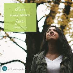 What Beats Fear Every Time  by: Holley Gerth I've recently been wrestling with fear again and I feel shame when I fall back into this place. I've written a book about God-sized Dreams, after all. There's a whole…