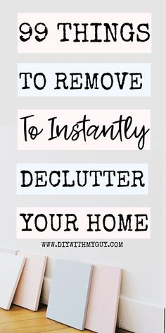 Instantly declutter your home by getting rid of these things you will never miss! Finally be able to keep a clean, organized home! #organized #organizationtips #home #clutter