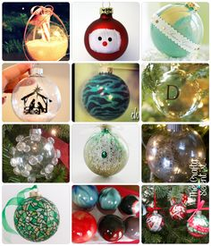 The Crafty Scientist - 500  Glass Ornaments Roundup
