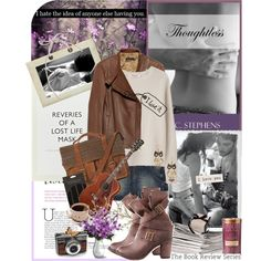 """""""Book Review: Thoughtless (book 1) by S.C. Stephens"""" by bittersweet89 on Polyvore"""