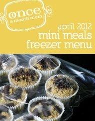 10 day meals (from once a month meals website) debratravis
