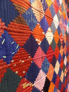 Japanese Court House Steps Quilt.