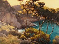 Blue Fish Cove, Pt Lobos, Brian Blood, oil