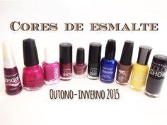 Por Dentro... em Rosa: Esmaltes e cores Inverno 2015 !