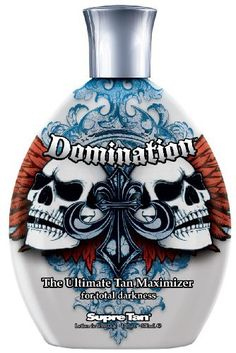 SUPRE-Domination Dark Maximizer Tanning Lotion by Supre.