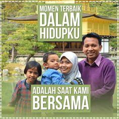 Keluarga, hal paling berharga di dunia.