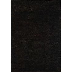 Fashion meets sustainability in this eco-friendly Solo rug. This casual floor rug is hand-knotted of 100-percent high-quality jute pile on a cotton warp and weft. The all-organic rug displays an earthy natural color palette with allover Liquorice. 8x10 $381