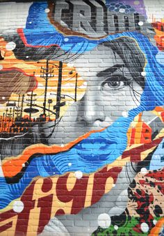 A look at the murals of downtown Detroit, from SouthtoSouthwest.com