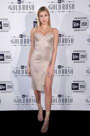 Hailey Baldwin Corset Dress
