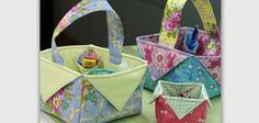 A Great Gift Idea for Any Occasion! Some of you may recognize this basket as being very similar to the boxes we featured in a previous article. This version, by Crafty Gemini, has handles, making the boxes into great little baskets. Fill them with goodies and use them for Easter, Christmas, housewarmings and any gift …