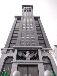 Skyscraper office - from below