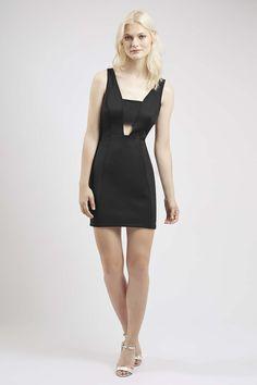Plunge Bralet Bodycon Dress - Topshop