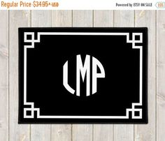 ON SALE Personalized Welcome Mat - Personalized Door Mat - Custom Welcome Mat - Monogram Door Mat - Custom Doormat - Housewarming - Wedding by AlloraGifts on Etsy https://www.etsy.com/listing/500711238/on-sale-personalized-welcome-mat