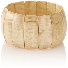 The Limited Wooden Stretch Bracelet Natural ($20) ❤ liked on Polyvore featuring jewelry, bracelets, natural, wooden bangles, bracelet bangle, wooden bracelet, wood jewelry and wood bracelet