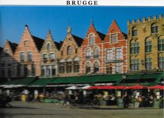 PK1245. Brügge. Marktplatz.