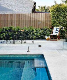 Shell White Travertine Pool Coping Drop Down (Rebate) Backyard Pool Landscaping, Backyard Pool Designs, Small Backyard Pools, Pool Fence, Swimming Pools Backyard, Swimming Pool Designs, Patio, Swimming Pool Tiles, Pool Coping Tiles