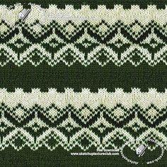 Textures Texture seamless | Wool jacquard knitwear texture seamless 19444 | Textures - MATERIALS - FABRICS - Jersey | Sketchuptexture