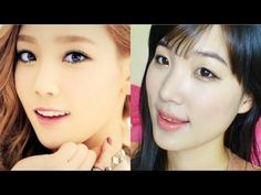 SNSD-TTS Taeyeon Inspired Makeup Tutorial 태티서 태연 메이크업