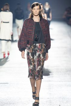 Dries Van Noten Spring 2014 Ready-to-Wear Fashion Show - Drake Burnette