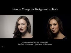 Use your screen as light source for your beauty portraits - YouTube