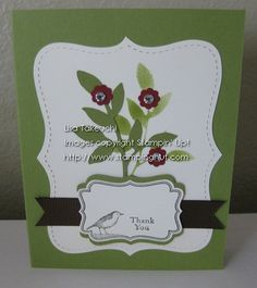 Little Leaves Card by akemi76 - Cards and Paper Crafts at Splitcoaststampers