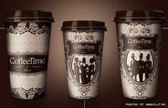 Креативные стаканчики для кофе (16 фото)