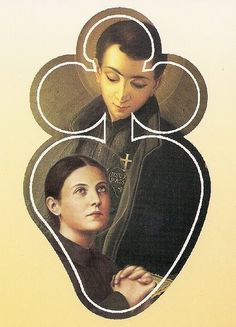 Saint Gemma Galgani  was very devoted to St. Gabriel.  She prayed to him for intercession and was healed. They both shared the Passion of Jesus Christ