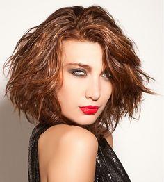 Xena Parsons Medium Brown Hairstyles